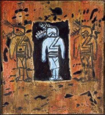 seeba wilfried 199 93 indianer mit felszeichnung